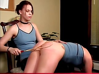 jacky caned and paddled to tears