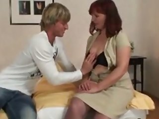 grand mother   and     young man    sex