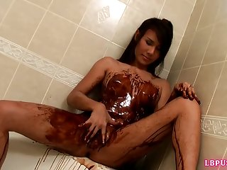 postop ladyboy oil chocolate covered